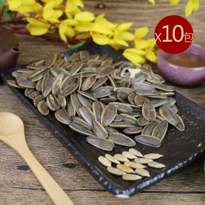 台南莊記 桂圓紅棗葵瓜子10包(350g/包)