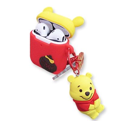 迪士尼 正版授權 Airpods 立體公仔 藍牙耳機保護套 1/2代通用款(維尼)
