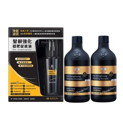 台塑生醫Dr's Formula髮根強化標靶促進液50ml+加碼送髮根洗髮精(升級版)清爽200g*2入