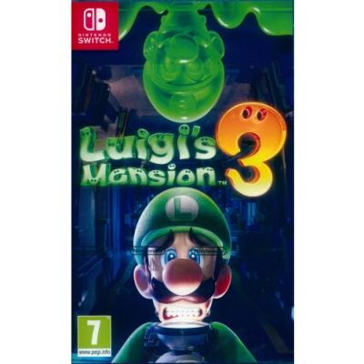 路易吉洋樓 3 Luigi s Mansion 3 - NS Switch 中英日文歐版