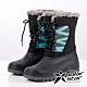 PolarStar 女防潑水保暖雪鞋│雪靴│保暖靴『黑』P19635 product thumbnail 1