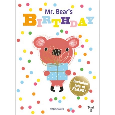 Mr. Bear s Birthday 小熊先生的生日派對翻翻書