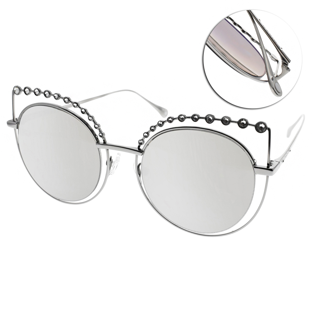 CARIN水銀太陽眼鏡 秀智代言 閃耀貓眼款/槍 #TIARA C1