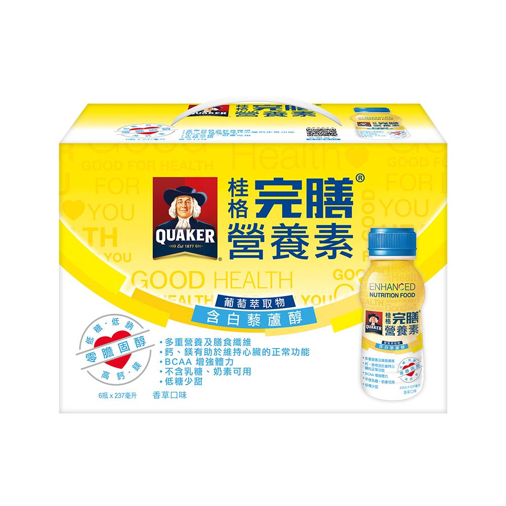 桂格完膳營養素 葡萄萃取物含白藜蘆醇配方237ml×36入