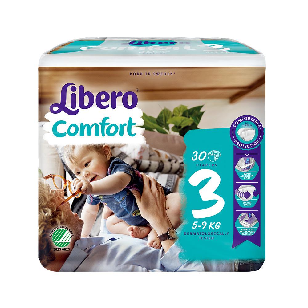 Libero麗貝樂 黏貼式嬰兒紙尿褲(3號S)(30片x6包)/箱 @ Y!購物