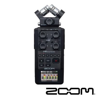 ZOOM H6 手持數位錄音機(黑)-公司貨