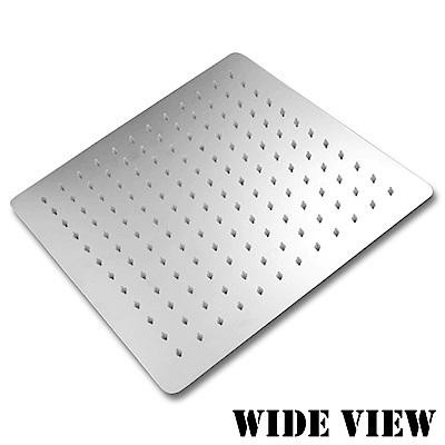 WIDE VIEW 超薄不袗增壓12吋方形頂噴蓮蓬頭(ZU-SH01)