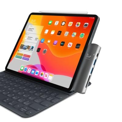 innowatt USB-C 6合1轉接擴充器for iPad Pro 11/12.9