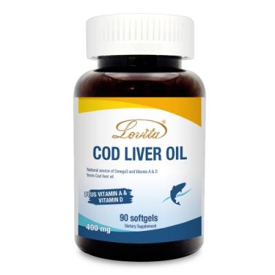 Lovita愛維他-鱈魚肝油400mg 90顆