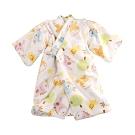 嬰兒台灣製絨布厚鋪棉長睡袍 b0256 魔法Baby