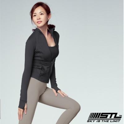 STL Fine Jacket 韓國 運動機能極輕量立領外套 摩登黑