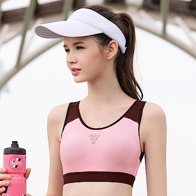 華歌爾-專業時尚 BM-BLL 運動內衣(粉)A-B 罩杯無鋼圈背心式