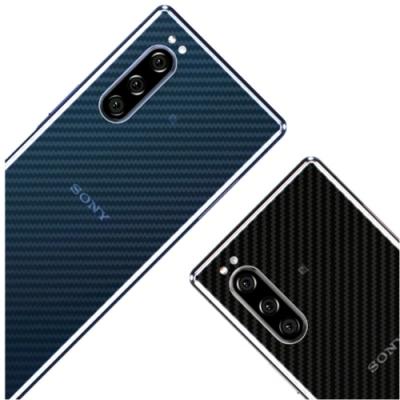 御殼坊  For:Sony Xperia 5背面護貼(碳纖紋)超值2片入