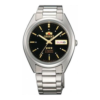 Orient東方男女通用東方三星級手錶-FAB00005B9