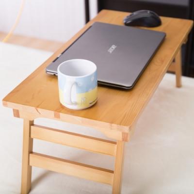AS-柏西原木摺疊桌-60x30X25.5cm(DIY)
