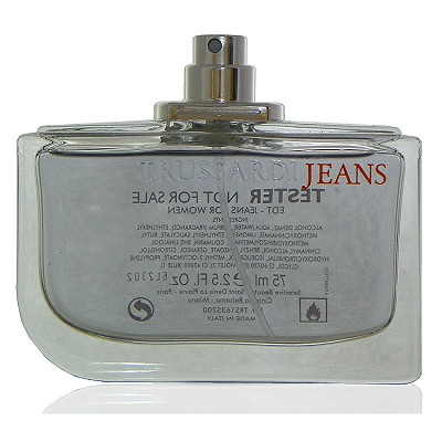 Trussardi Jeans 牛仔情人女性淡香水 75ml Test 包裝 無外盒包裝