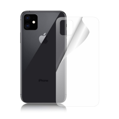 NISDA for iPhone 11 6.1背面高透光保護貼(背面使用)-非滿版 2張