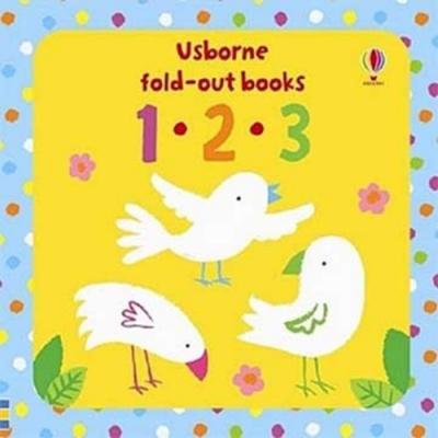 Fold-Out Books:123 數數篇硬頁摺疊書