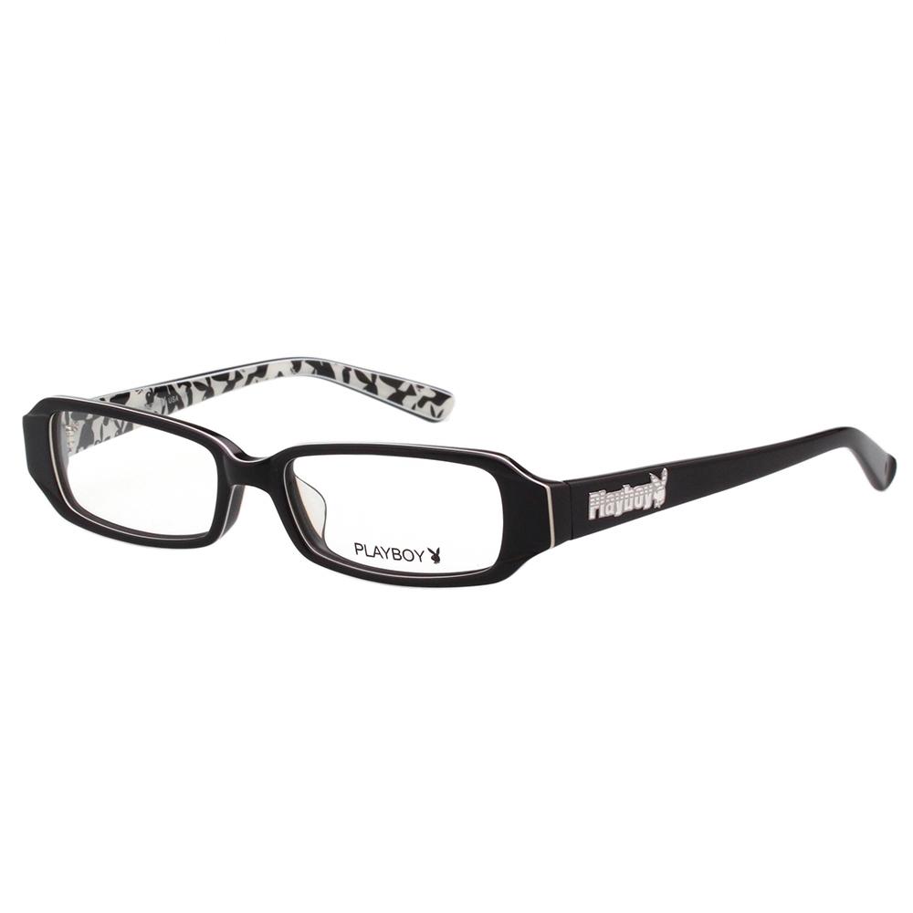 PLAYBOY-時尚光學眼鏡-黑色-PB85048
