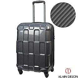 ALAIN DELON 亞蘭德倫 20吋TPU系列拉鍊登機箱(黑)