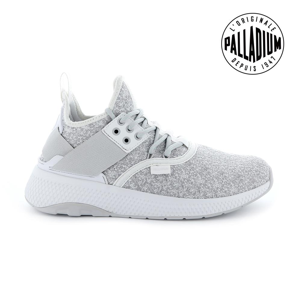 Palladium AX_EON LACE K復古慢跑鞋-女-白