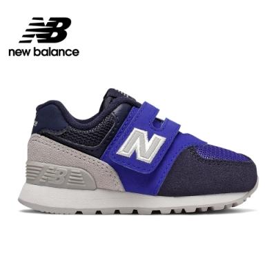 【New Balance】童鞋_中性_藍色_IV574JHS-W楦