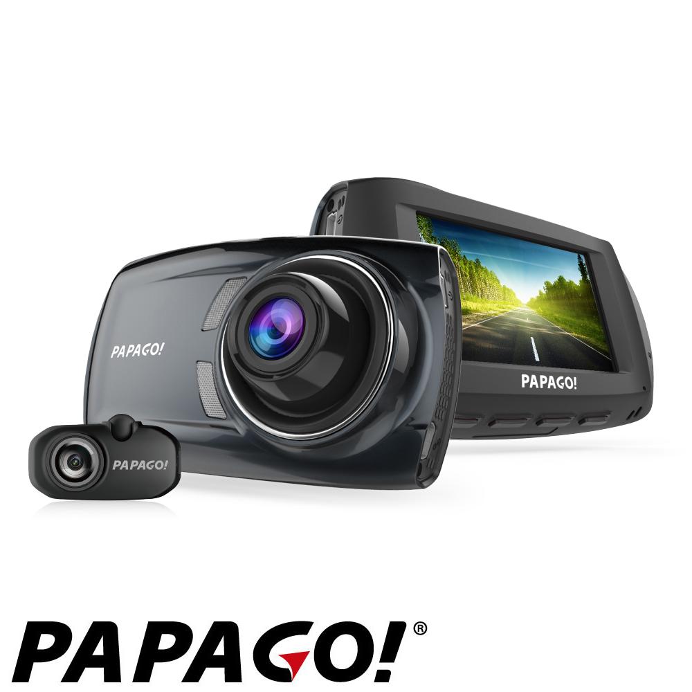 PAPAGO! GoSafe S810  前後雙鏡頭SONY感光元件行車記錄器-快 @ Y!購物