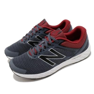 New Balance 慢跑鞋 520 Wide 寬楦 運動 男鞋 紐巴倫 避震 包覆 路跑 健身 球鞋 灰 紅 M520RC32E