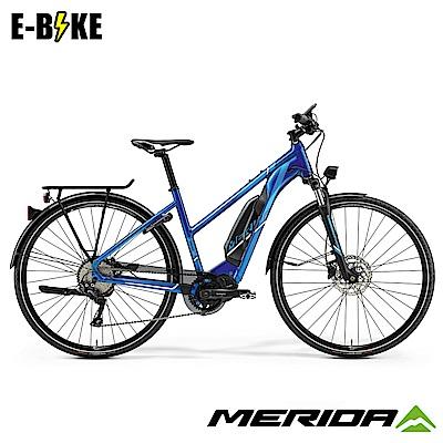 《MERIDA》 美利達 eSPRESSO 600低跨 電動輔助自行車 藍 2019