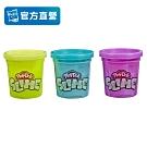 【培樂多Play-Doh】史萊姆 三入組 銀河紫+金屬綠+螢光黃