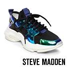 STEVE MADDEN-AJAX炫色亮皮老爺復古鞋-黑色