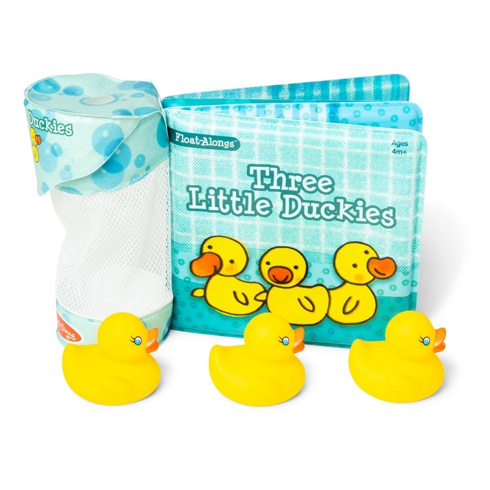 【Melissa & Doug 美國瑪莉莎】洗澡玩具書 - 三隻小鴨