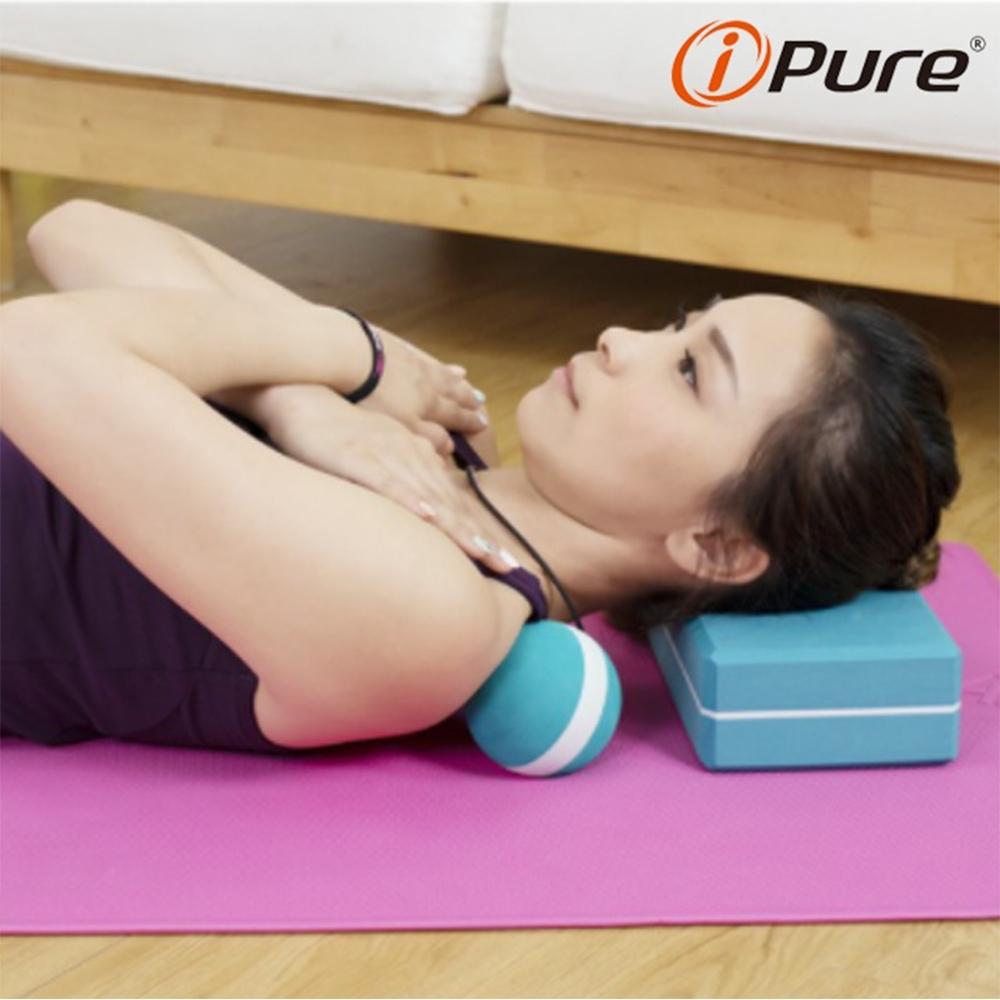 Yoga i-Pure 能量筋膜按摩球-9cm-2顆組