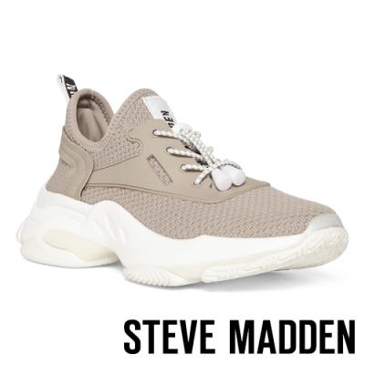 STEVE MADDEN-MATCH LOGO素面增高休閒鞋-灰色