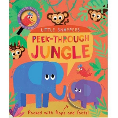 Peek-Through Jungle 叢林生活 硬頁翻翻操作書