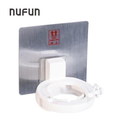 NUFUN 無痕貼掛壁式瓶口夾(2入)