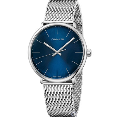 Calvin Klein 巔峰系列復刻腕錶(K8M2112N)藍/40mm