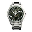 ORIENT 當代時尚飛行運動腕錶(FUNG2001F0)-綠/41mm