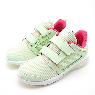 ADIDAS-中童慢跑鞋BD7172-蘋果綠