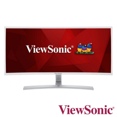ViewSonic VX3515-C-hd-w 35型超寬時尚曲面螢幕