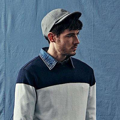 CACO-短帽簷布章老帽-(兩色)-男【QNA091】