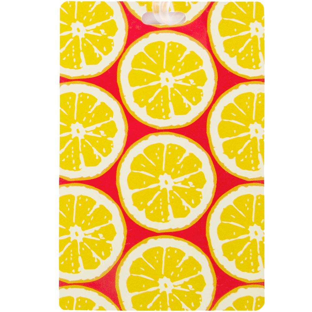 TRAVELON 輕薄行李掛牌(檸檬)