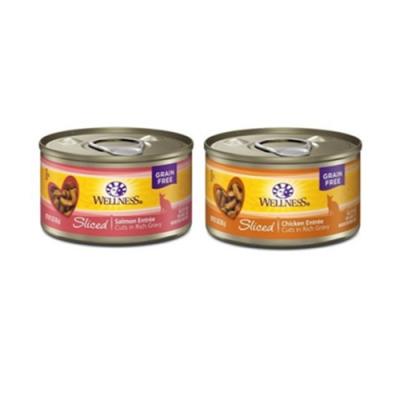 WELLNESS寵物健康-全方位彈牙肉條主食罐- 3OZ(85g) 24罐組