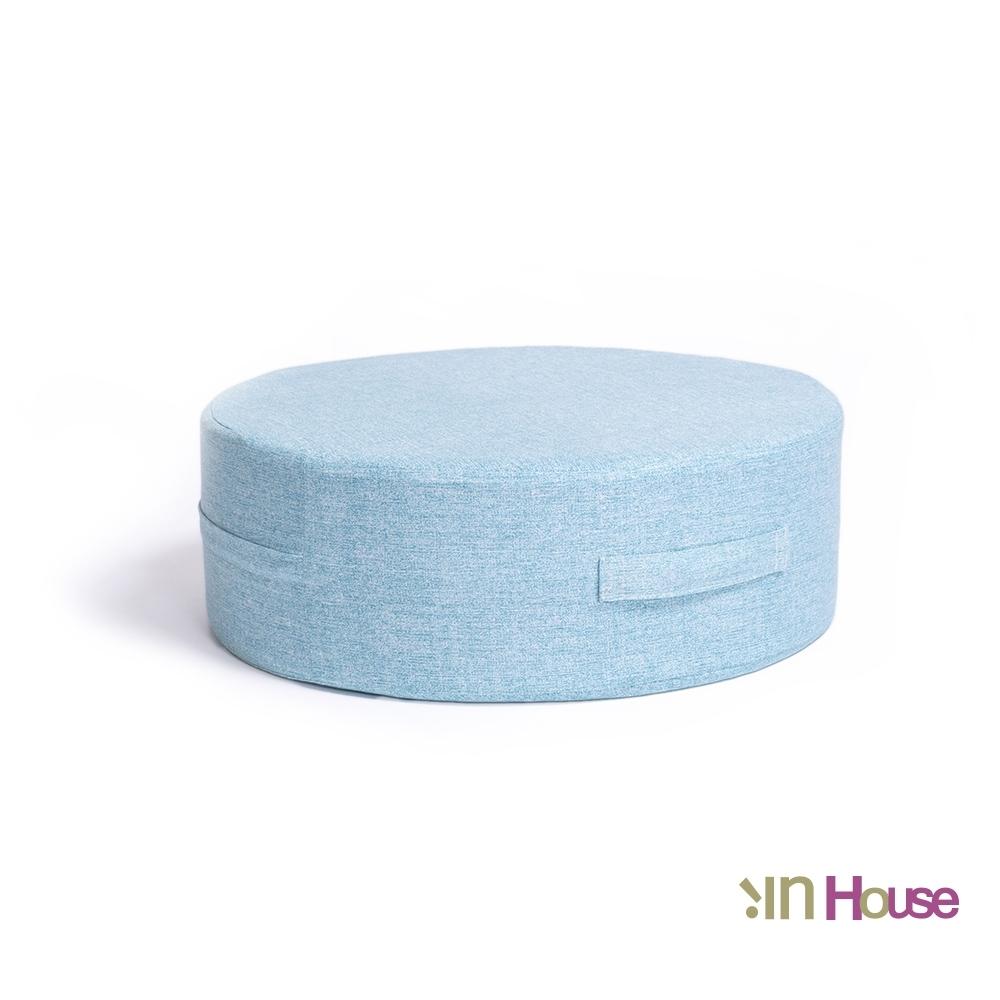 IN HOUSE-日式無壓力坐墊(圓形/水藍)