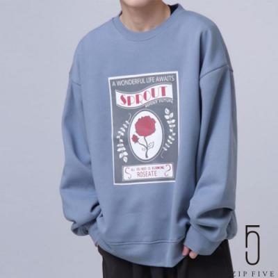 ZIP日本男裝 ZIP FIVE寬版藝術設計運動衫(18色)