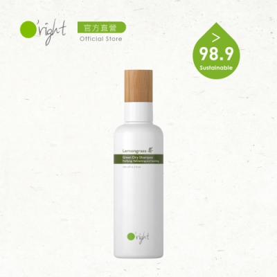 O right 歐萊德 檸檬草植萃乾洗髮180ml(一般、油性、異味頭皮)