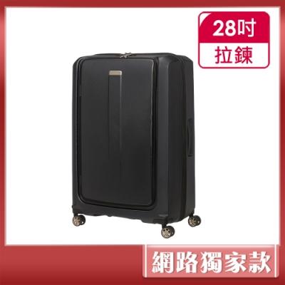 Samsonite 新秀麗 28吋Prodigy 1:9前開PC防刮雙扣鎖行李箱(黑)