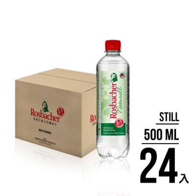 德國Rosbacher天然礦泉水(500mlx24入)-箱購