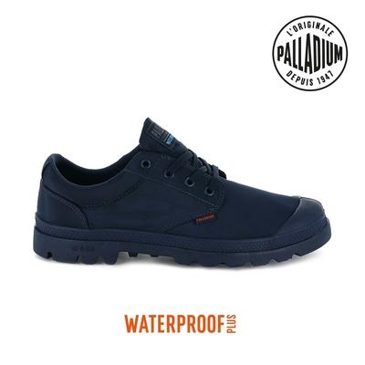 PALLADIUM PAMPA OXPUDDLE LT+WP+輕量防水鞋-中性-藍