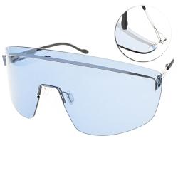ic!berlin眼鏡  Mercedes-Benz 聯名限量款/銀-藍鏡片#
